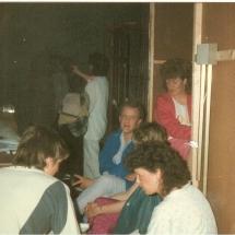 Bedroom Farce RehearsalConor, mm, Hugo, Christine, Geraldine, Pauline