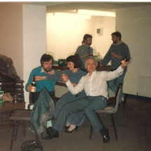 Brush With A Body Party Marie Madsen, Lorcan Madsen, Mick Higgins, Unknown, Mick (George) Greene