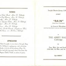 Programme Rain 001