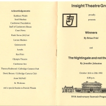 Programme Winners & The Nightingale and not the Lark 001