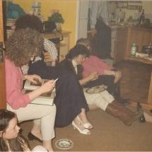 The Factory Girls Cast Party Lisa Breslin, Pauline Harte, Nikki Killian, Geraldine Reidy
