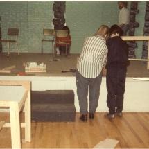 The Factory Girls Setbuilding Maggie Higgins, Marie Madsen