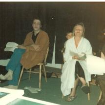 Winners Rehearsal 1990 Karl Sheils, Helena Fagan, Liz Maxwell