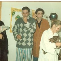 Winners Rehearsal 1990 Liz Maxwell, Steve O Brien, Karl Sheils, Helena Fagan