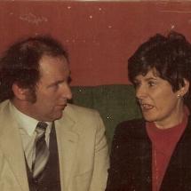Circa 1984 Des Mc Closky & Aileen Hudson 001