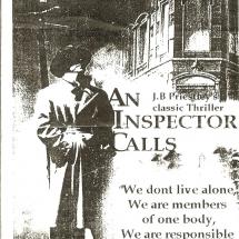 Programme An Inspector Calls 001