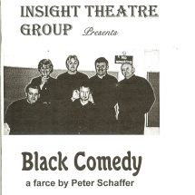 Programme Black Comedy 001