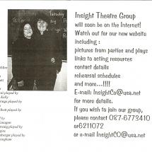 Programme Black Comedy 003