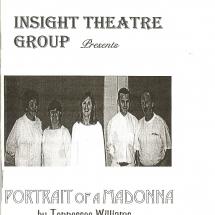 Programme Portrait of a Madonna 001
