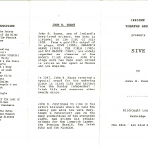 Programme Sive 001