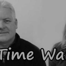 time warp BW text