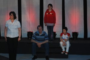 Contemplating life in ' From These Green Heights' performed in april